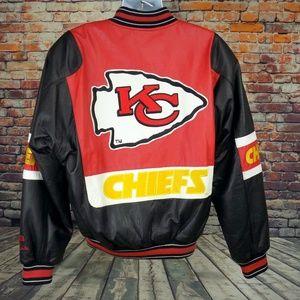 c89775b5d Carl Banks GIII Jackets   Coats - Kansas City Chiefs Leather Jacket G-III  Men s